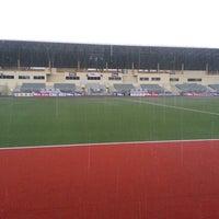 Photo taken at Stadium Hoki Nasional by Feefm on 4/9/2013