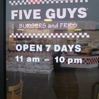 Photo taken at Five Guys by Masha P. on 2/22/2013