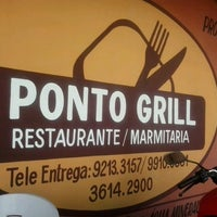 Photo taken at Ponto grill restaurante / marmitaria by Wendell D. on 2/27/2014