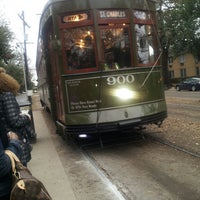 Photo taken at St. Charles Avenue Streetcar by Chachou C. on 2/23/2013