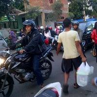 Photo taken at Gegerkalong ramadhan food street by Agga E. on 7/18/2013