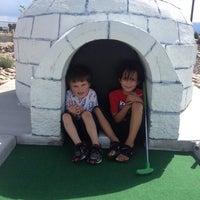 Photo taken at Legends Miniature Golf by Liz M. on 7/9/2014