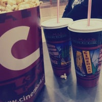 Photo taken at Cinemark by Alii D. on 4/15/2013