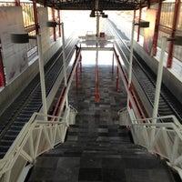 Photo taken at Tren Suburbano San Rafael by Enrique L. on 3/19/2013