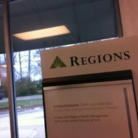 Photo taken at Regions Bank by Liz P. on 2/28/2013