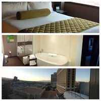 Photo taken at Vdara Hotel & Spa by Rae L. on 5/31/2013