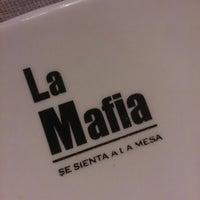 Photo taken at La Mafia se sienta a la mesa by Manu M. on 8/2/2013