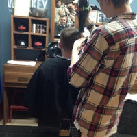 Photo taken at Boy Cut Barbershop by Мила Д. on 12/6/2016