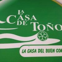 Photo taken at La Casa de Toño by Alexander D. on 7/13/2013