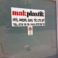 Photo taken at MAKPLASTİK FİTİL PROFİL SAN. TİC.LTD.ŞTİ by Uğur A. on 8/6/2014