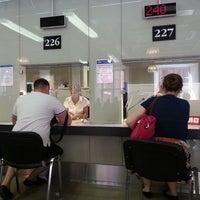Снимок сделан в УФМС России по СПб и ЛО отдел оформления заграничных паспортов пользователем Ксения А. 6/5/2013