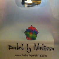 Photo taken at Baked By Melissa by Alaa on 2/20/2013