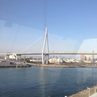Photo taken at Tempozan Giant Ferris Wheel by Yasuhito O. on 2/3/2013