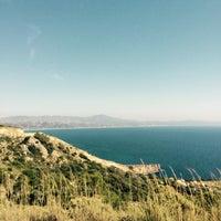 Photo taken at Fourni Beach by Валентина П. on 5/13/2015