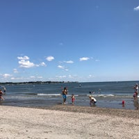 Photo taken at Silver Sands Beach by Joshua on 8/13/2017