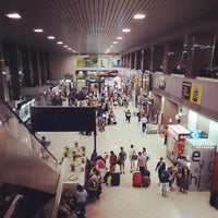 Photo taken at Henri Coandă International Airport (OTP) by Наталья В. on 7/28/2013