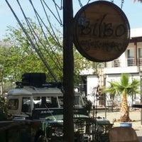 4/20/2016 tarihinde Alper S.ziyaretçi tarafından Bilbo Cafe & Bistro'de çekilen fotoğraf