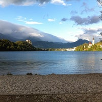 Photo taken at Camping Bled by Sien J. on 9/1/2014