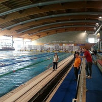 Photo taken at Stadio Del Nuoto by Stefano V. on 4/11/2013