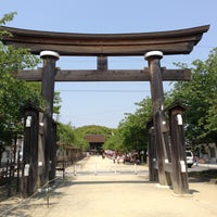Photo taken at 国府宮神社 (尾張大國霊神社) by ru_tya on 5/6/2013