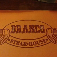 Photo taken at Branco Steak House by Aron F. on 2/24/2013
