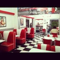 Photo taken at La Merienda Diner by Javier V. on 2/23/2013