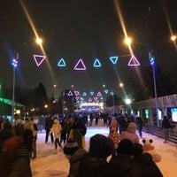 Photo taken at Каток ЦПКиО им. Горького by Alexander G. on 12/10/2016