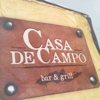 Photo taken at Casa de Campo bar & grill by Brendalid C. on 3/7/2014