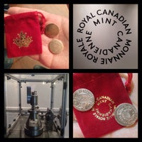 Photo taken at Royal Canadian Mint by Diana K. on 2/7/2016