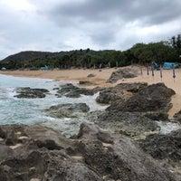 Photo taken at 白沙灣 Baishawan Beach by Harrison W. on 4/16/2018