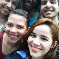 Photo taken at Praça de Convivência Algar Tech by Jéssica P. on 1/30/2015