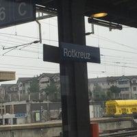 Photo taken at Bahnhof Rotkreuz by Thomas B. on 2/27/2016