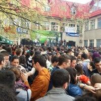 Photo taken at Ekonomski fakultet by Petar D. on 4/4/2013