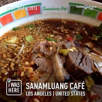 รูปภาพถ่ายที่ Sanamluang Café โดย TomMi เมื่อ 7/6/2013