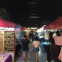 Photo taken at Train Night Market Ratchada by Mc M. on 4/19/2015