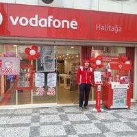 Photo taken at Vodafone Halitaga by Canberk K. on 2/26/2013