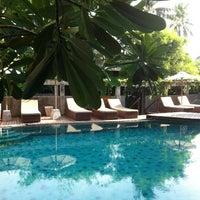 Photo taken at Swimming Pool Deva Samui Resort & Spa by Sergio K. on 6/1/2013