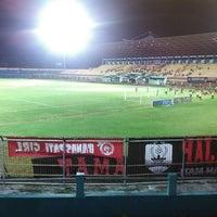 Photo taken at Gelora Bumi Kartini Stadium by Yunita W. on 6/6/2013