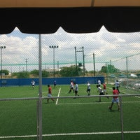 Photo taken at Olympic Park (Football Academy) by Lara C. on 6/9/2013