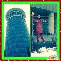 Photo taken at башня Донецк сити by Anna💎 on 12/14/2013