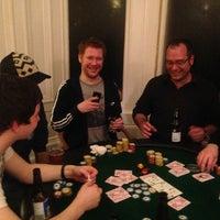 Photo taken at Black Cat Poker Club by Lynn M. on 2/23/2013