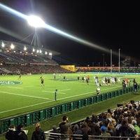 Photo taken at Waikato Stadium by lorelo on 9/10/2016