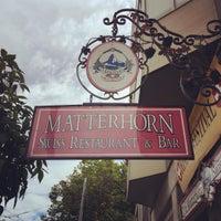 Photo taken at The Matterhorn Swiss Restaurant by IDIL V. on 6/13/2016