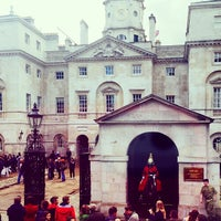 Photo taken at London 2012 Horse Guards Parade by Val • R. on 5/10/2014
