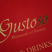 Photo taken at Gustoso Ristorante & Enoteca by Val • R. on 12/19/2013