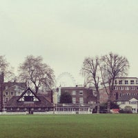 Photo taken at Vincent Square Playing Fields by Val • R. on 4/5/2014