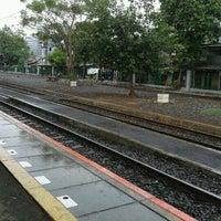 Photo taken at Stasiun Kemayoran by Alex E. on 11/5/2012