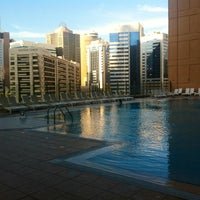 Photo taken at Al Jazeera Towers Private Pool by Dragoljub M. on 12/3/2013