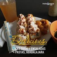 Foto tomada en Sticks Sushi + Ensaladas + Pastas por Diego Enrique M. el 6/21/2013
