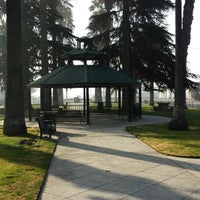 Photo taken at Kerman Plaza Veterans Park by Kevin N. on 12/28/2013